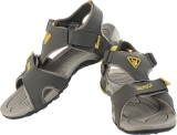 Zedrock Men Olive yellow Sandals