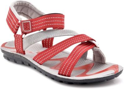 AeroStar Men Red, Grey Sandals