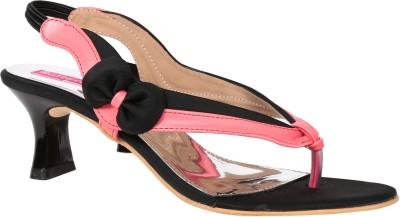 Butterfly Women Black Heels