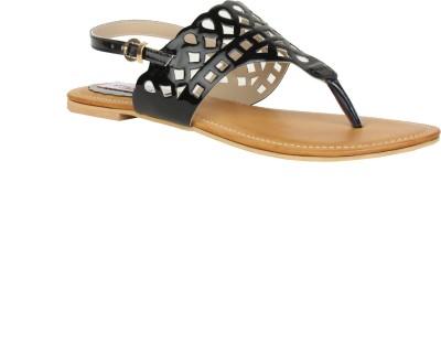 Stylistry Stylistry Black Color Women Flats Sandal Women Black Flats