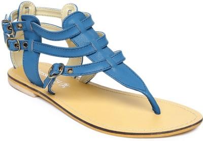 Dressberry Women Blue Flats