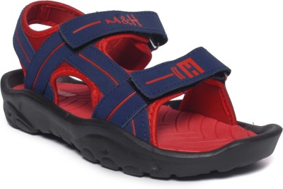 M&H Men Navyblue Sandals at flipkart