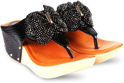 Anand Archies Women Black Heels