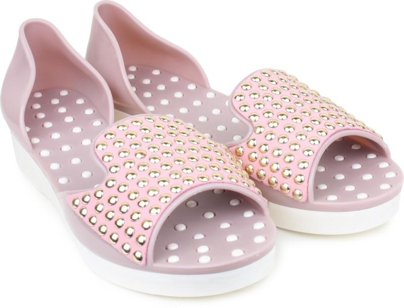 London Steps Women Pink Flats