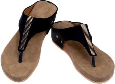 Fashion Bytes Women Black Heels
