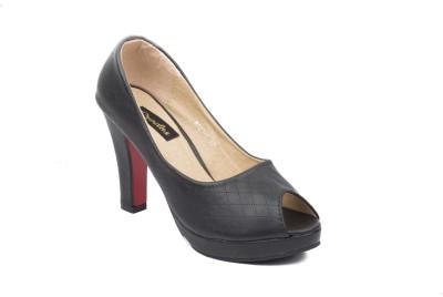 Credos Women Black Heels