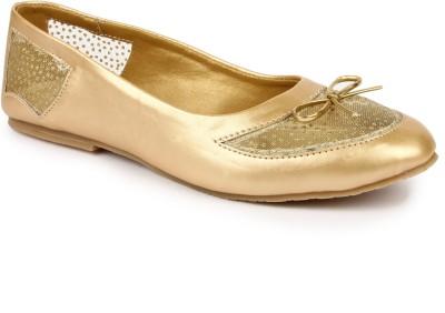 DANR Women Gold Flats