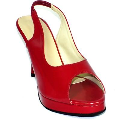 Maayas Women Red Heels