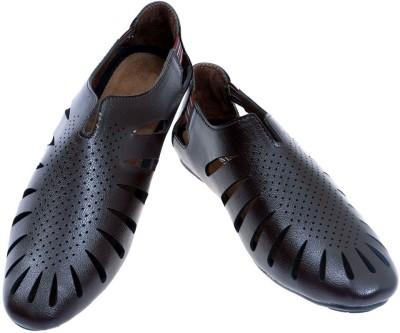 Fashion Bytes Men Brown Sandals