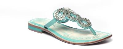 Pavers England Women Blue Flats