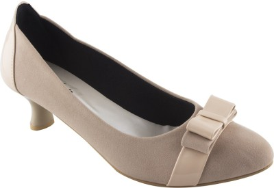 Modin Women Beige Heels