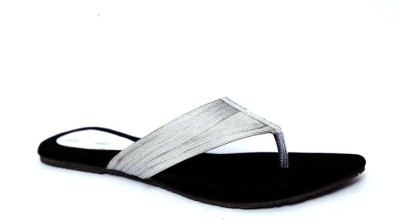 Laila Collections LATE0050600SW Women Black, Silver Flats