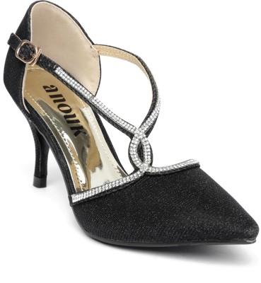 Anouk Women Black Heels
