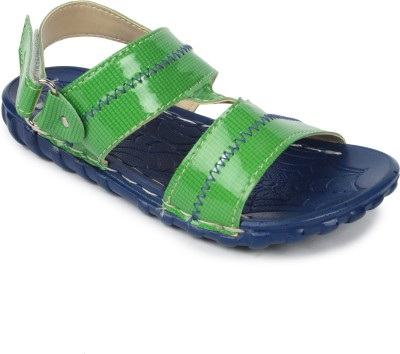 Footfun By Liberty Boys Green Sandals
