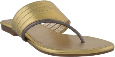 Footsy Women Gold Flats