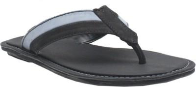 Jack Don Men Grey, Black Sandals