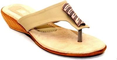 Angeela Women Beige Flats