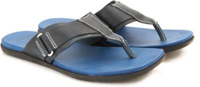 Clarks Valor Jump Blue Leather Men Blue Sandals