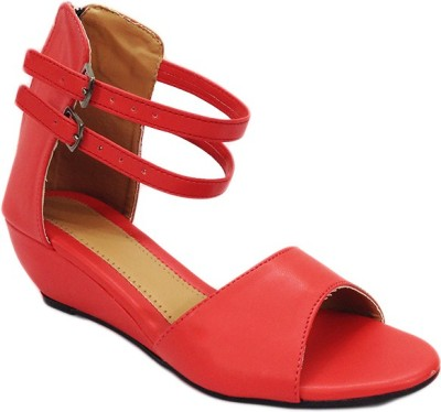 RUSSO FASHION Women, Girls Red Flats