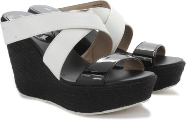 Kenneth Cole Oscar Rent Her Women Women White, Black Wedges