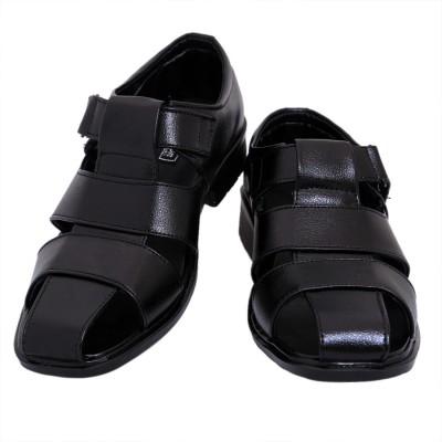 American Cult Men Black Sandals