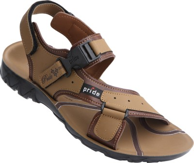 Veekesy Men Tan Sandals