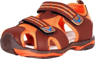 Ole Baby Boys Orange Sandals