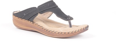 Anand Archies AA-1515 Women Black Flats