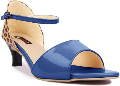 Kz Classics Women Blue Heels