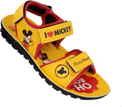 Disney Boys Yellow Sandals
