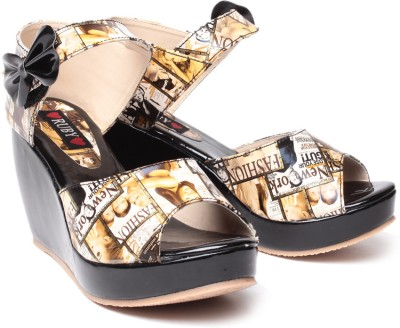 Ruby Fabulous Women Multicolor Wedges