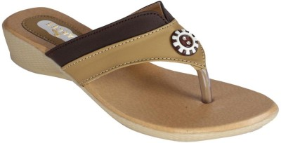Recent Collection Women Brown Flats