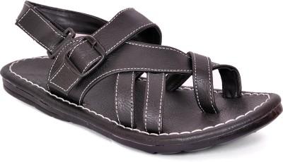 Flute Men Black Sandals