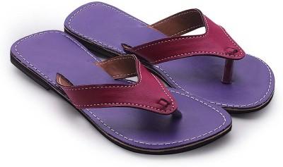 Ethnic Arts Women Purple Flats