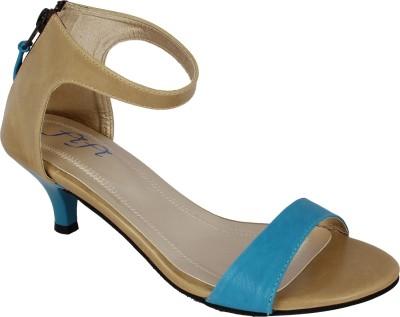 Fifi Women Blue Heels
