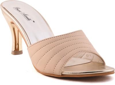 Bruno Manetti Women Beige Heels