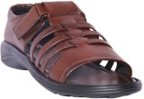 Leather Chief Men Brown Sandals