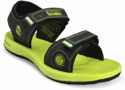 Frestol Men Green, Black Sandals