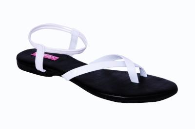 Versiliana Women White Flats