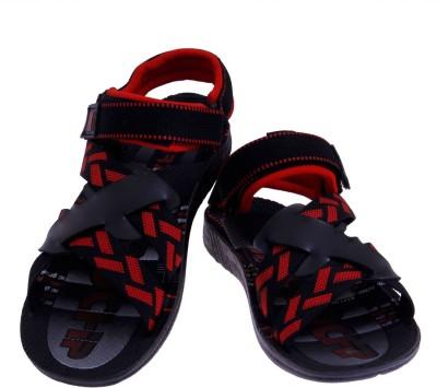 2 Dost Men Black Sandals