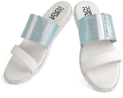 PRESA Girls Blue Slipper Flip Flop