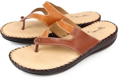 Starchi Women Brown Flats