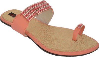 Exotique Women Pink Flats