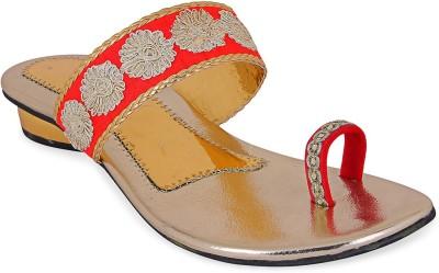 Ridhi Sidhi Women Red Heels