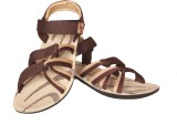 Delux Look Men Brown Sandals