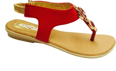 Recent Collection Women Red Flats