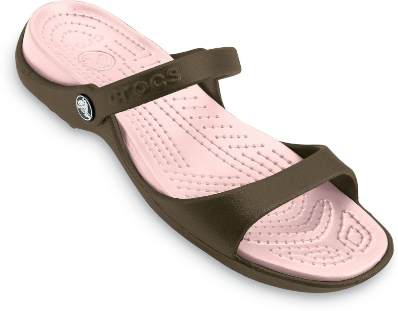Crocs Women Brown Clogs