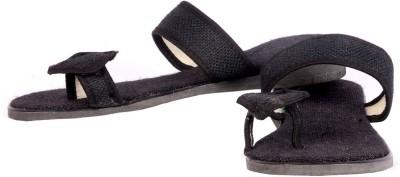 lipax Women Black Flats