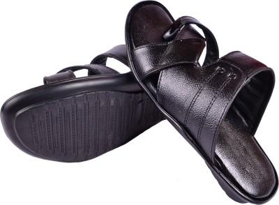 babatoes Men, Boys Black Sandals
