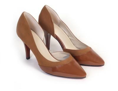 Bello Pede Women Brown Heels